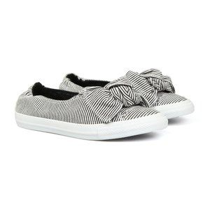 New Converse CTAS Slip Knot Bow Sneakers